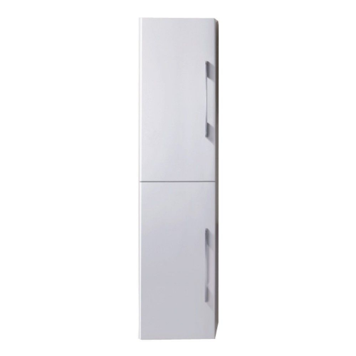 Eclipse 350mm x 1500mm White Gloss Wall Mounted Cabinet